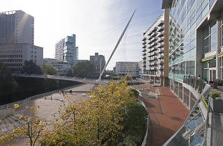 The River Bar, The Lowry Hotel, Manchester, View