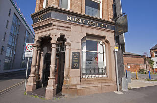 The Marble Arch Inn, Manchester, Exterior
