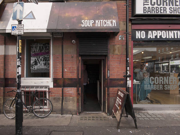 Soup Kitchen, Manchester, Exterior