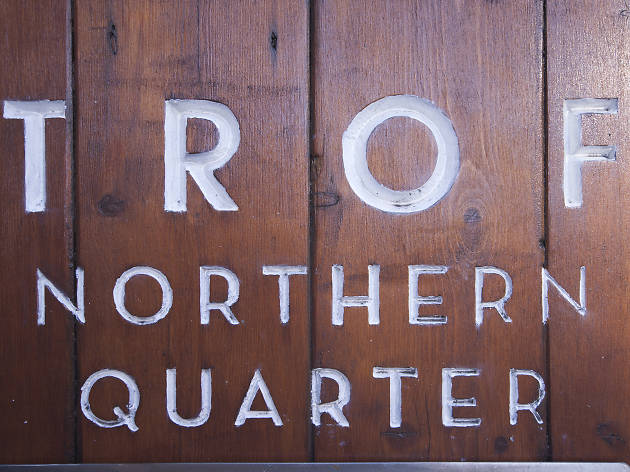 Trof, Northern Quarter, Manchester, Sign