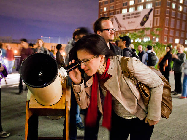 50 free events, Stargazing, The High Line