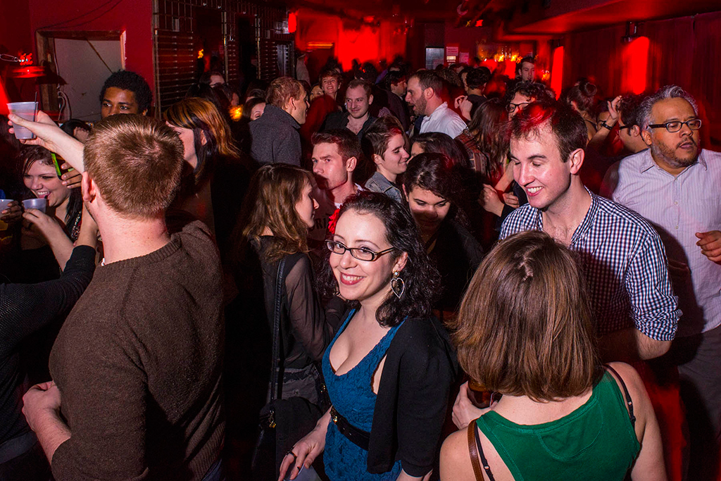 50 free events, Le Poisson Rouge