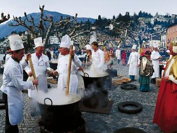20. Tuck into a risotto in Ticino