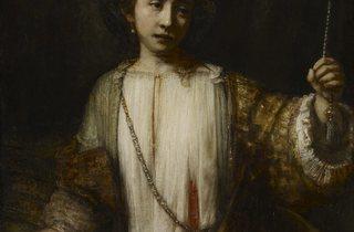 Rembrandt van Rijn ('The Suicide of Lucretia', 1666)