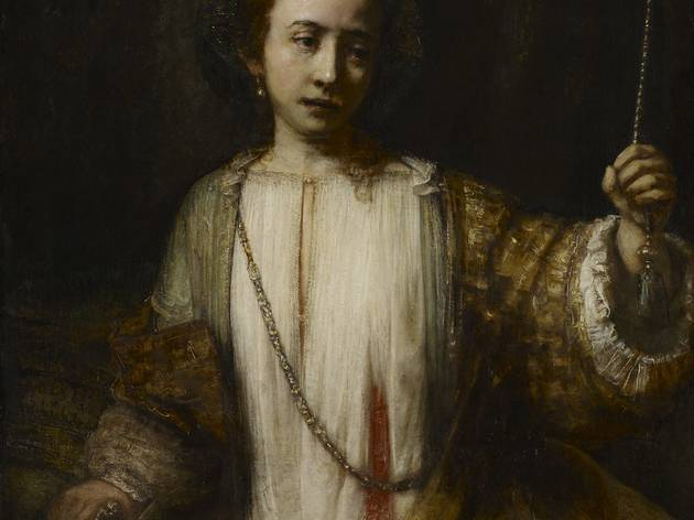 Rembrandt van Rijn ('The Suicide of Lucretia', 1666)