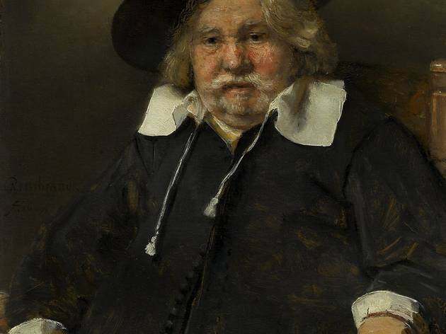 Rembrandt van Rijn ('Portrait of an Elderly Man', 1667)