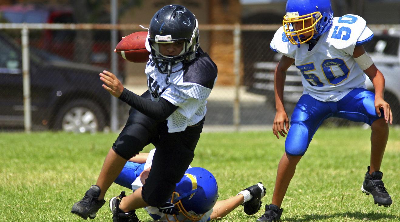 Futbol americano para niños