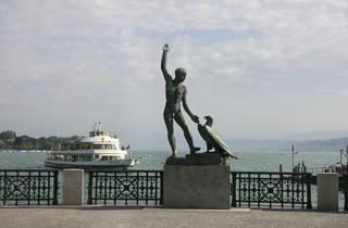 Ganymed Statue Zurich