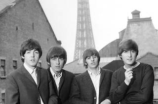Beatles France Paris Tour Eiffel