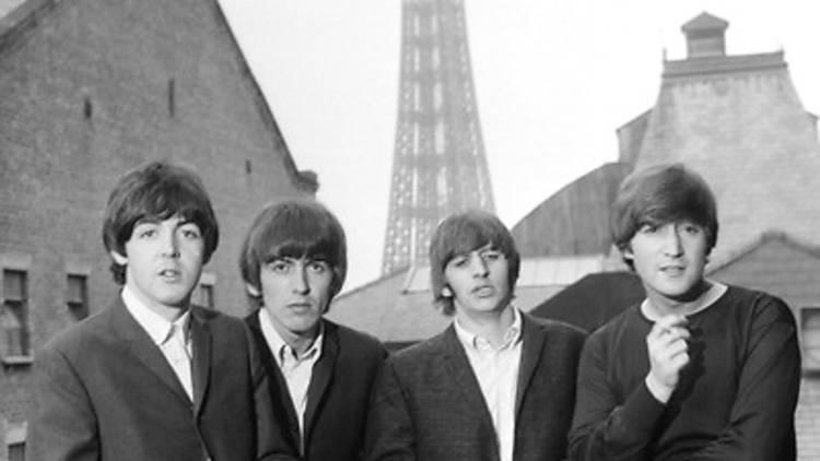 Beatles France Paris Tour Eiffel