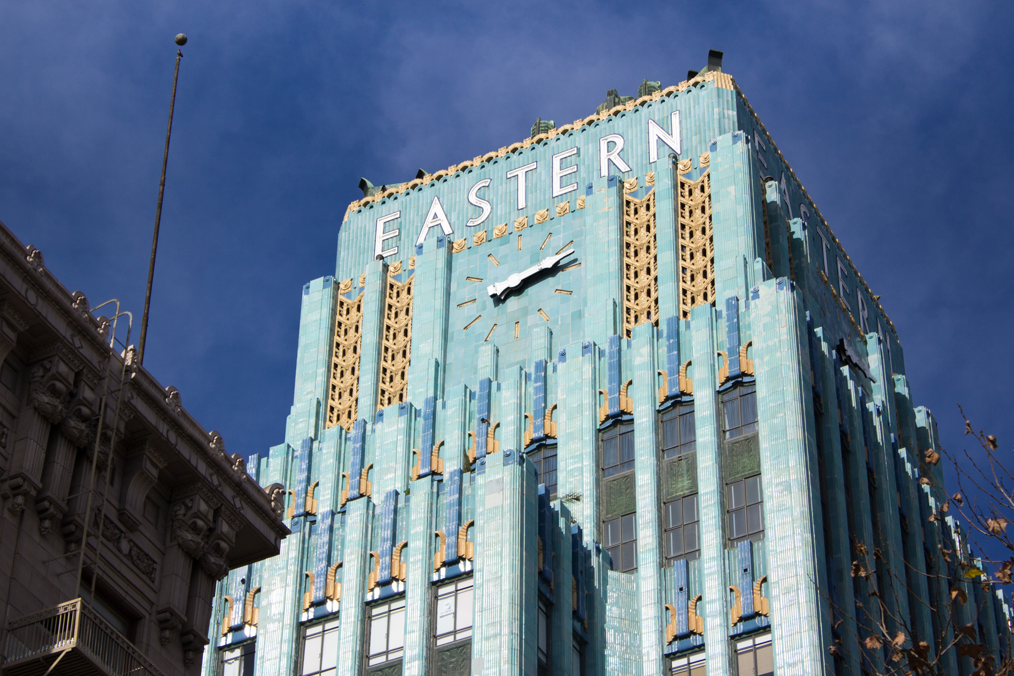Eastern Columbia Building.