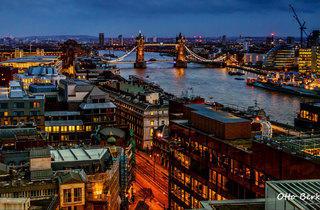 City aglow