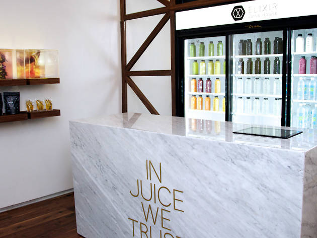 "Plan ""me quiero ver sensual"": Elixir Juice House"