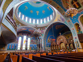 Sts. Volodymyr & Olha Ukrainian Catholic Church in Ukrainian Village is just one of the sites to visit during Open House Chicago.
