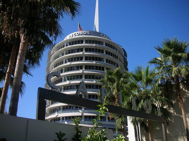 Capitol Records Building.