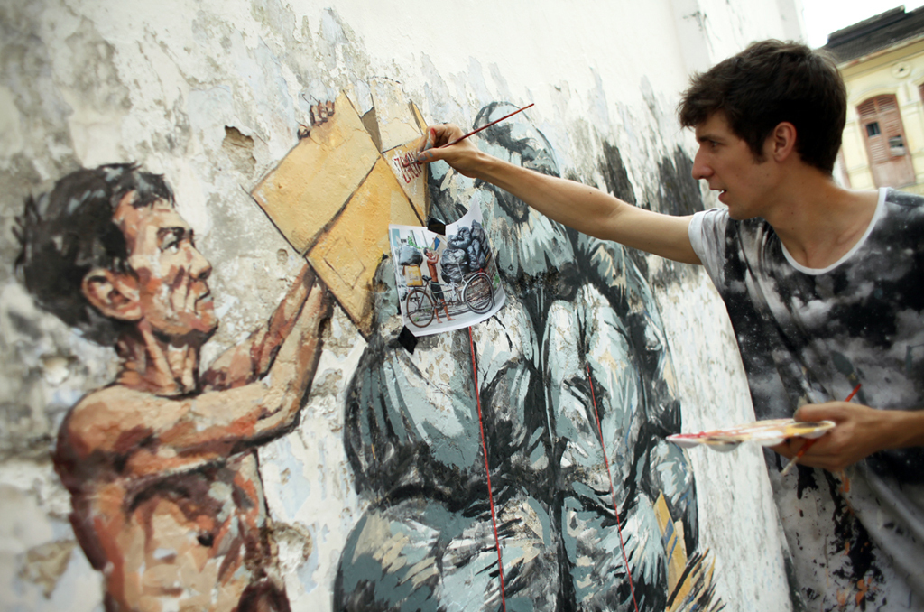 Ernest Zacharevic interview