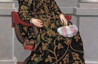Giovanni Battista Moroni ('Isotta Brembati', c.1555 )