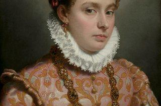 Giovanni Battista Moroni ('Young Lady', c.1560-65 )