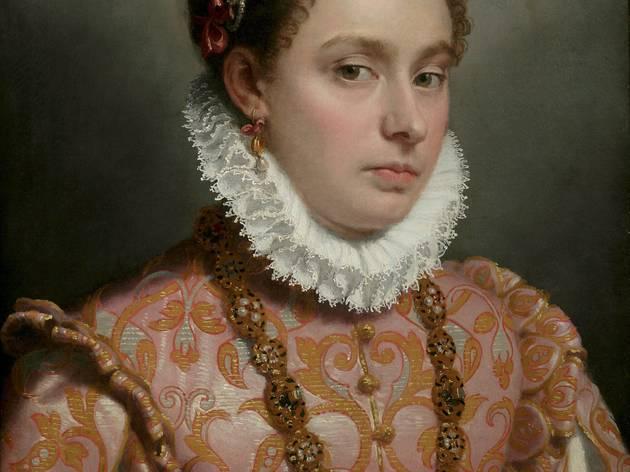 Giovanni Battista Moroni ('Young Lady', c.1560-65 )