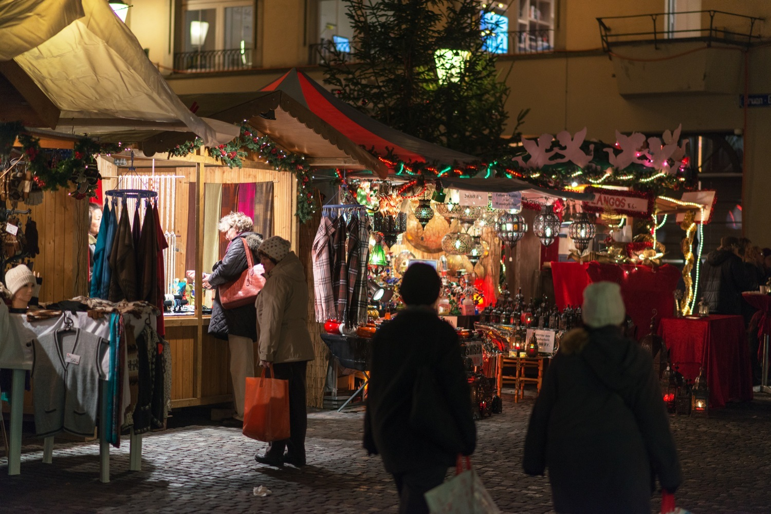 Christmas Market in the Old Town, Zürich