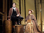 Josh Young and Erin Mackey in Amazing Grace at Broadway in Chicago's Bank of America Theatre