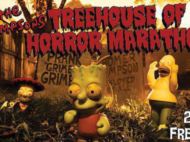 The Simpsons Treehouse of Horror Marathon
