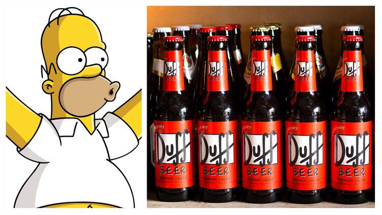 Cerveza Duff de Los Simpson (Foto: Cortesía Fox y Alejandra Gutiérrez)