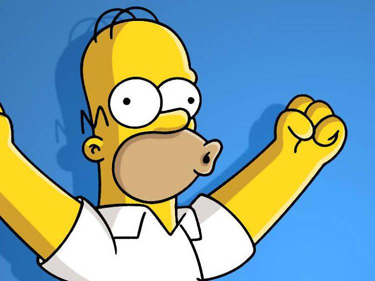 Cerveza Duff - Los Simpson