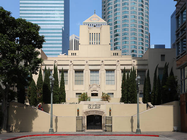 Los Angeles Central Library.