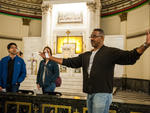 Visitors explored Corpus Christi Catholic Church in Bronzeville during Open House Chicago on October 18, 2014.​