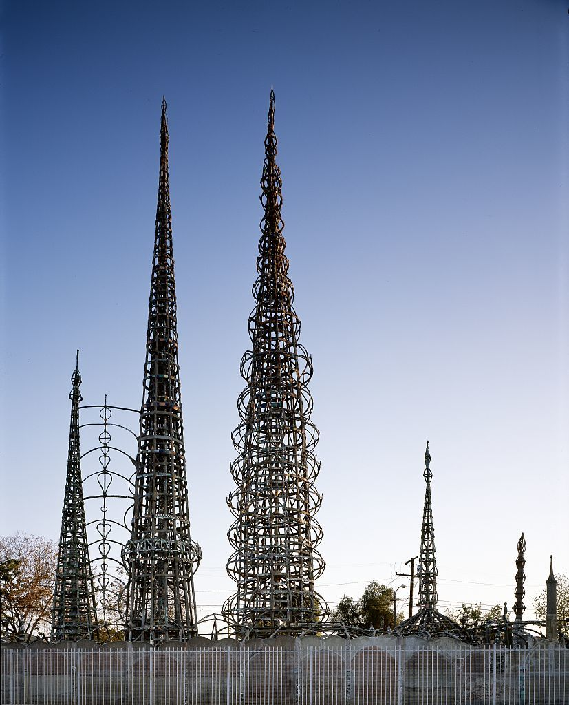 Set up an afternoon picnic at Watts Towers