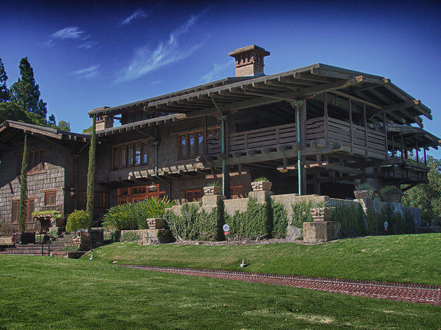 Gamble House.