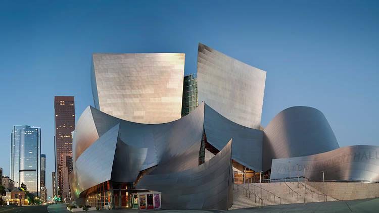 Walt Disney Concert Hall designed by Frank Gehry