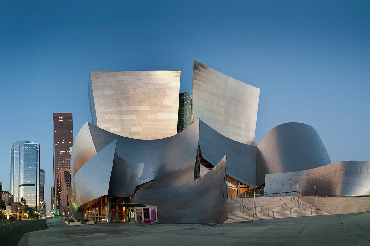 Walt Disney Concert Hall designed by Frank Gehry