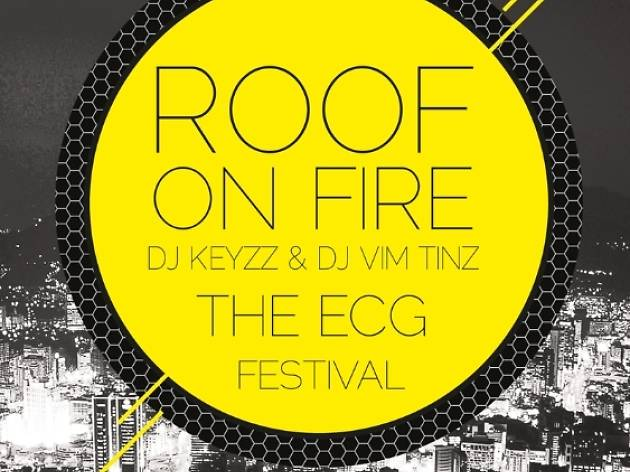 Roof on Fire party for Electro Comes to Ghana, Accra, Ghana