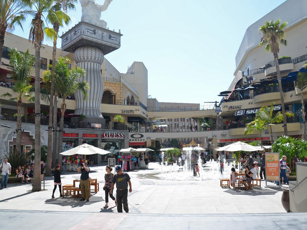 Where to shop near Hollywood and Highland