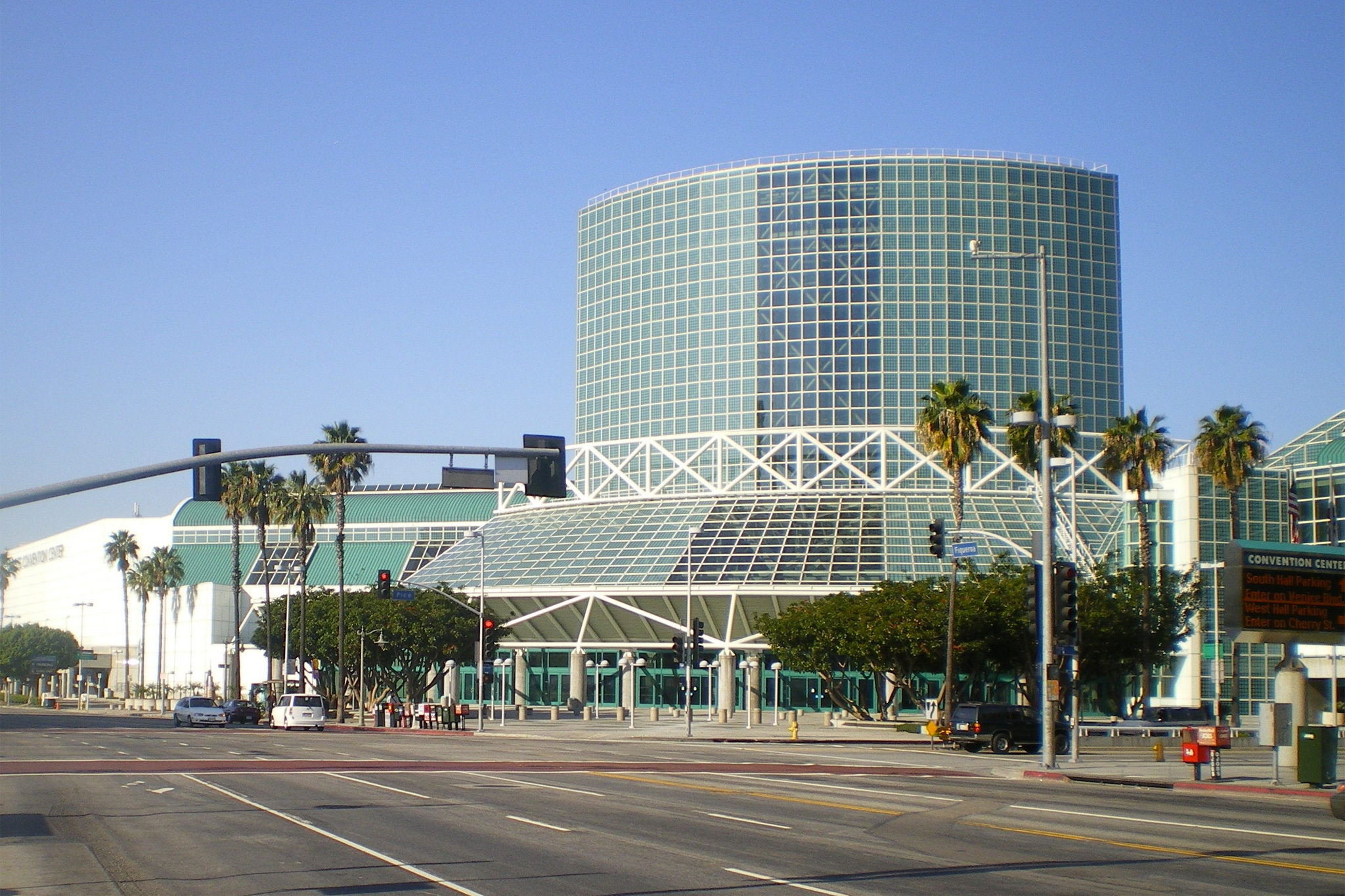 Los Angeles Convention Center.