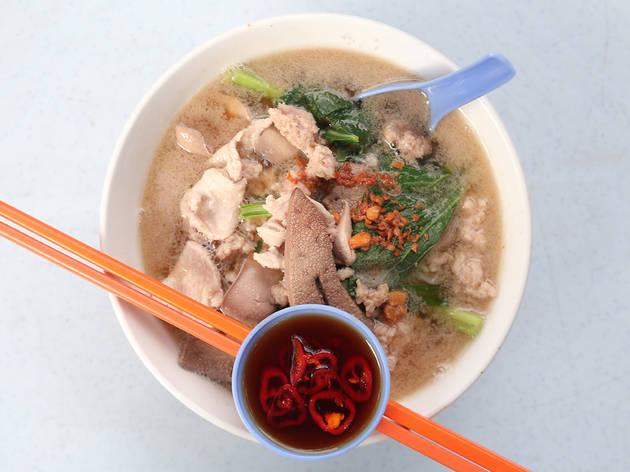 Penang pork noodles, Jalan Alor