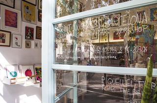 Give Print a Chance! Primer Mercat de Serigrafia de Barcelona