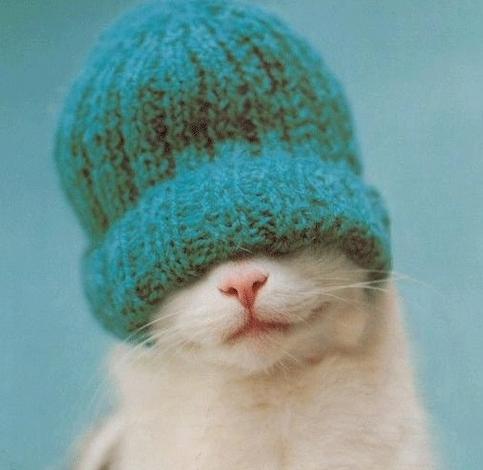 Porter un bonnet même s'il ne neige pas
