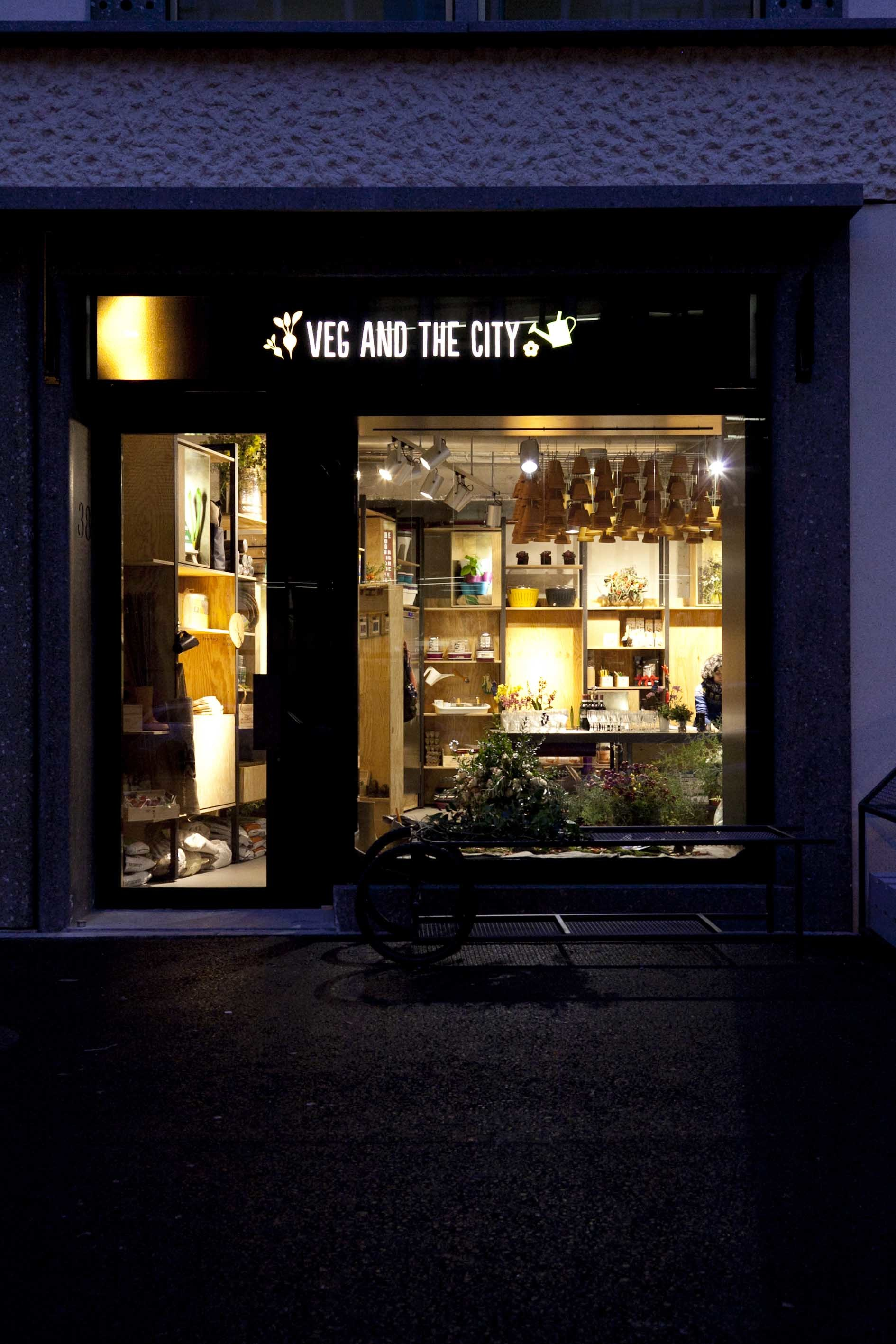 Veg and the City is an urban gardening store in Zürich