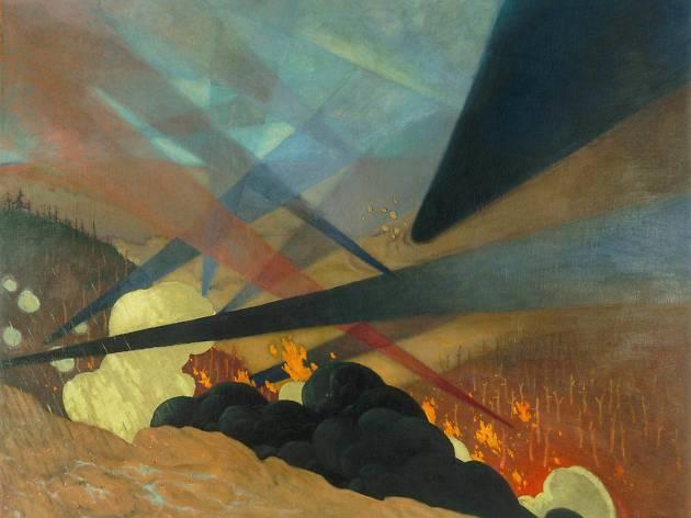 (Félix Vallotton (1865-1925), 'Verdun', 1917 / ©Paris, musée de l'Armée)