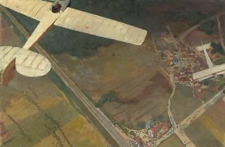 (André Devambez (1867-1944), 'Avions fantaisistes', 1911-1914 / © RMN-Grand Palais / Hervé Lewandowski / © Adagp, Paris 2014)