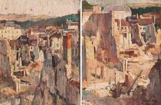 (Victor Tardieu (1870-1937), 'Ruines de Verdun', 1916 / © Paris, musée de l'Armée)