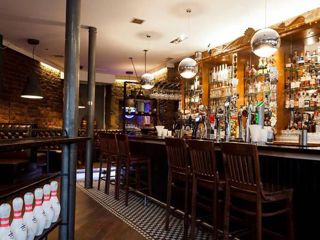 Lebowskis, Bars, Burgers, Glasgow
