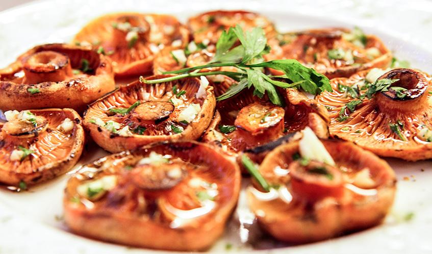 Restaurants amb bolets: temporada 2014