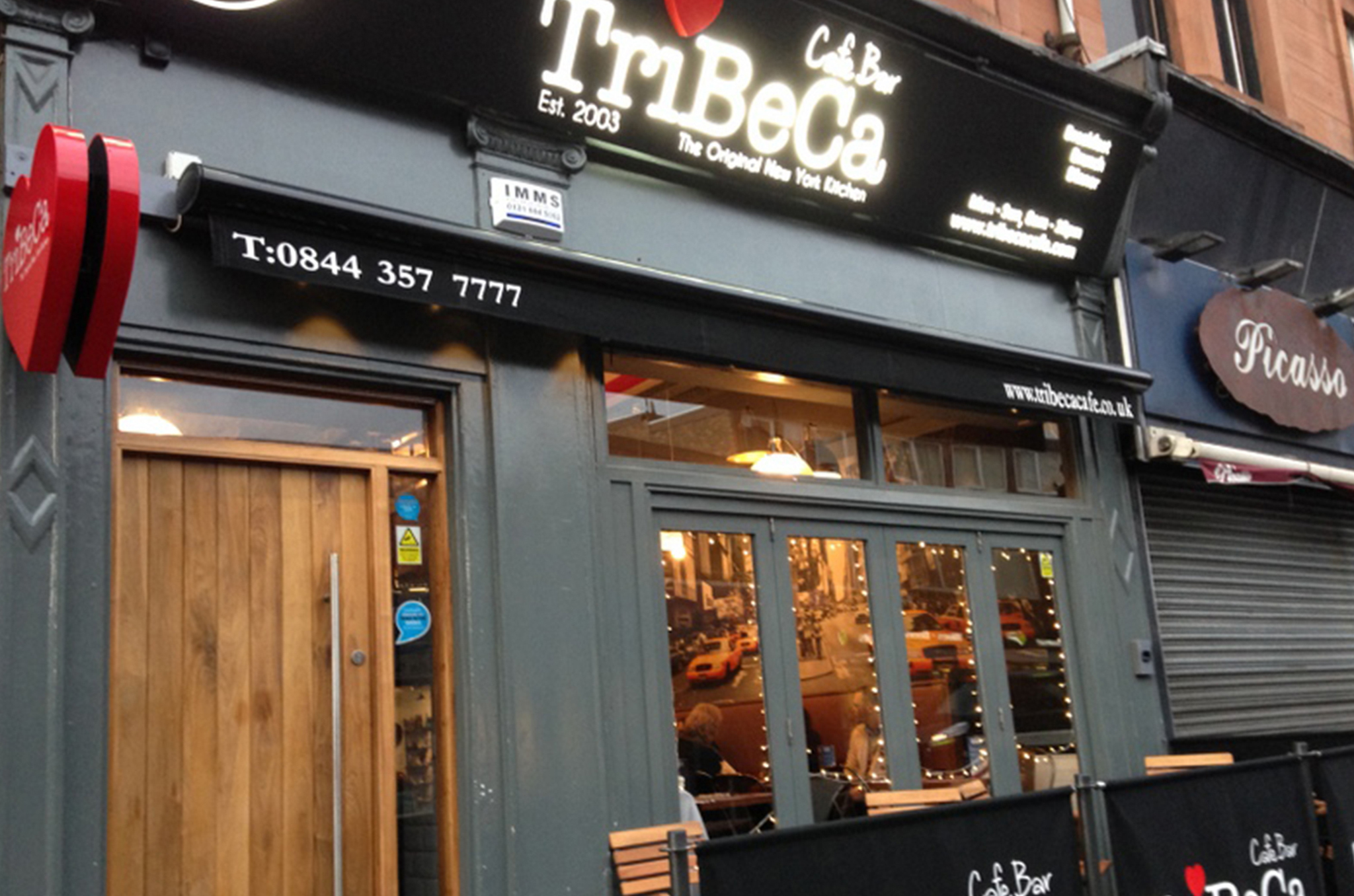 Tribeca, Cafes, Brunches, Glasgow
