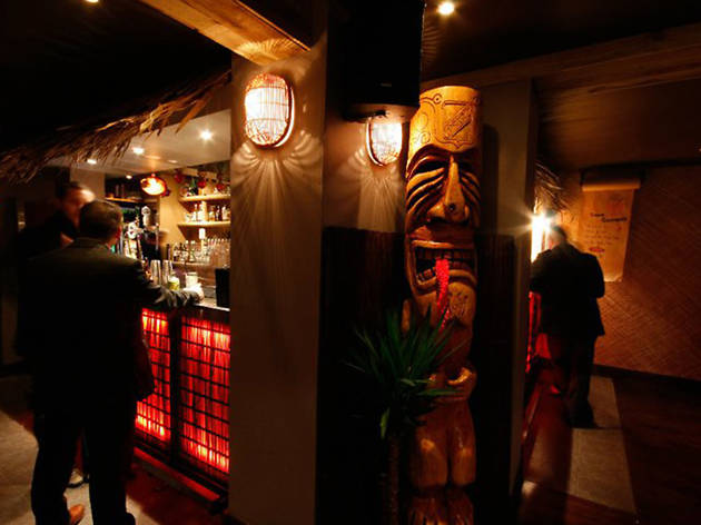 Tiki Bar, Cocktail bars, Glasgow