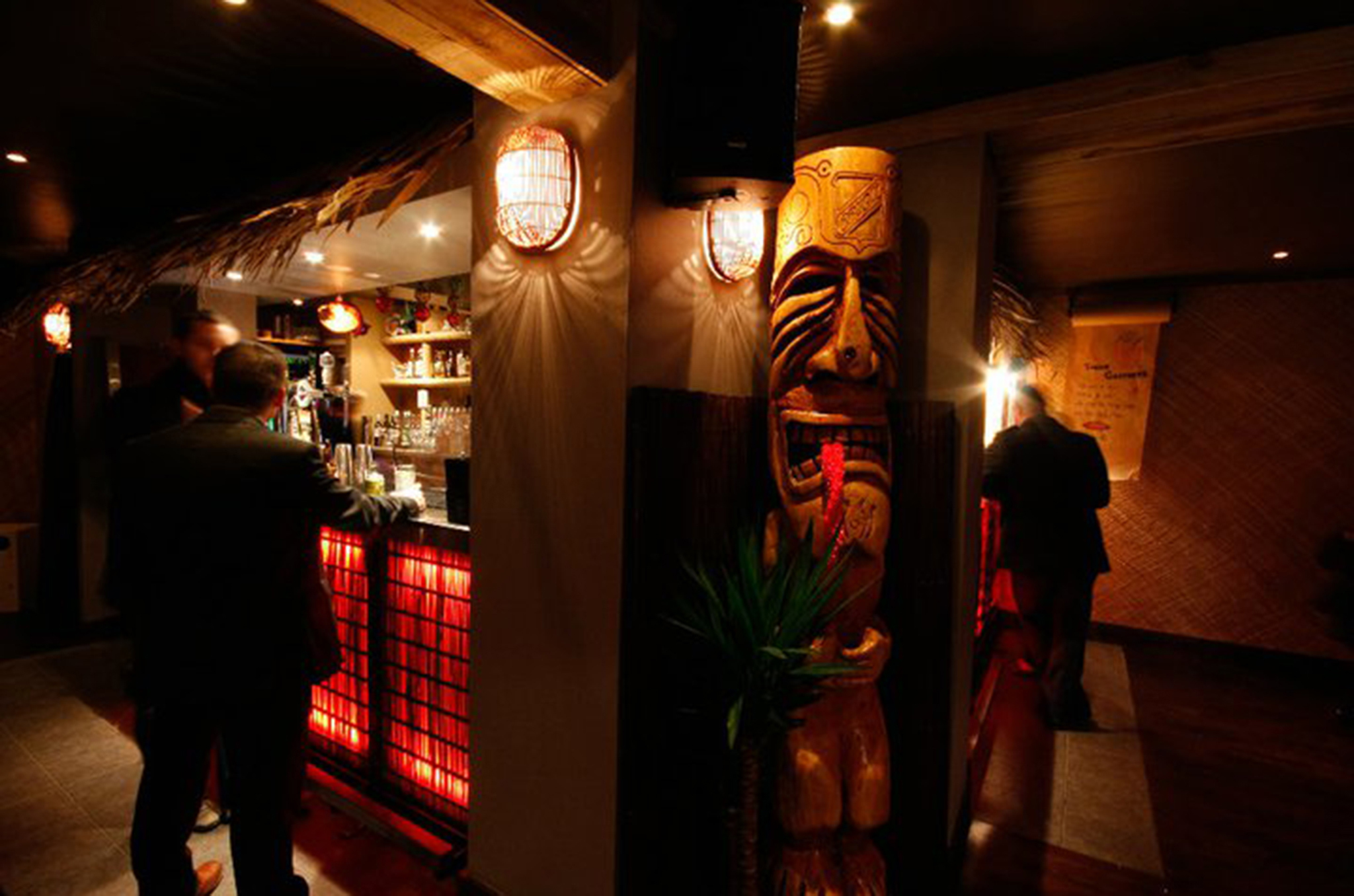 Tiki Bar, Cocktail bars, Glasgow