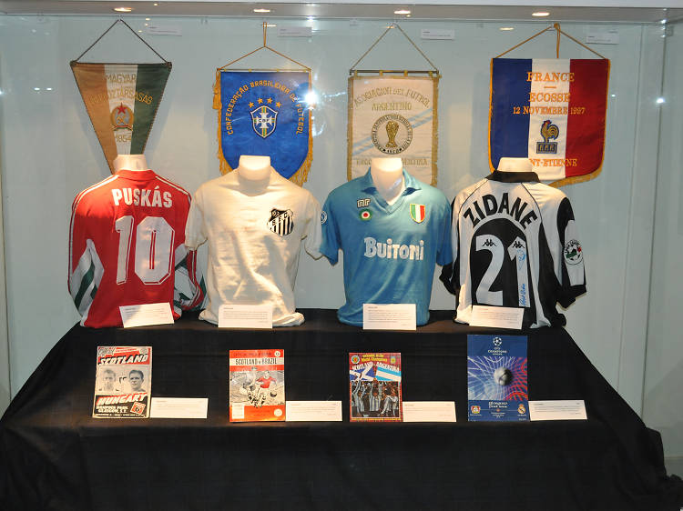 Immerse yourself in the beautiful game at The Scottish Football Museum
